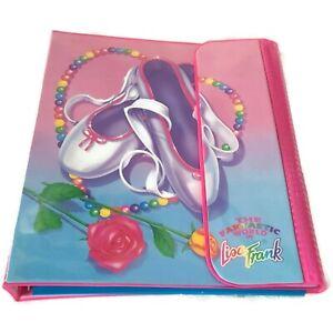 Vintage (1989) Lisa Frank Binder Ballet Slippers