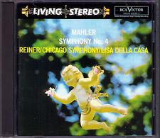 Fritz Pur: Mahler Symphony No. 4 Lisa Della Casa CD RCA LIVING STEREO Symphonie