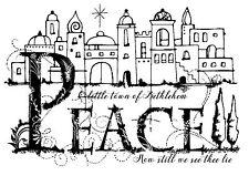 Woodware Trasparente singoli Magic TIMBRO Natale 2017-Betlemme Palace FRS657