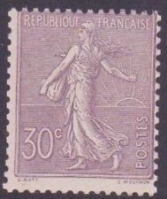 """FRANCE STAMP TIMBRE 133 """" SEMEUSE LIGNEE 30c LILAS """" NEUF xx TB"""