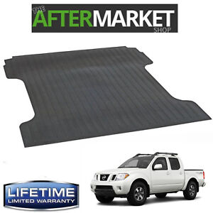 New Heavy Duty Rubber Bed Mat Fits 2005-2012 Frontier 6' Bed LIFETIME WARRANTY