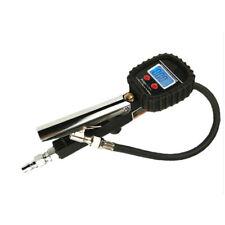 Digital Tire Pressure Guage Air Tire Meter Accurate Blue Backlight Durability