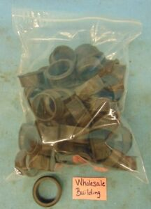 """COMPUTER DESK PLASTIC GROMMET, OD: 1-7/8"""", HEIGHT: 13/16"""" NO COVER, LOT OF 55"""