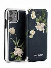 Ted Baker® EESMEE Floral Mirror Case for iPhone 11 Elderflower / Black Silver