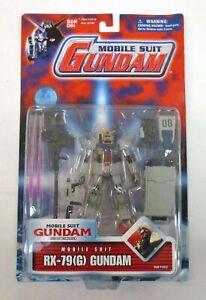 """Mobile Suit Gundam RX-79(G) 4.5"""" Figure MOC NEW Bandai 2001 #11537"""