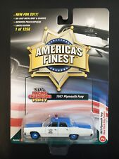 RACING CHAMPIONS MINT 1967 PLYMOUTH FURY NEW YORK CITY POLICE  FREE SHIPPING