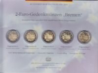 Frg 2010 Adfgj Commemorative Coins Bremen IN Blister, Coin, Coin