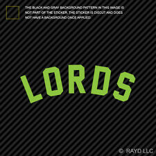 Lords Sticker Die Cut Decal stance daily drift