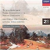 TCHAIKOVSKY Piano Concertos Nos. 1-3 (Postnikova), Violin Concerto (Chung) 2CDs