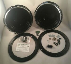 "Bearmach Land Rover Defender 90, 110, 127 & 130 7"" Headlamp Light Bowl Kit x2"