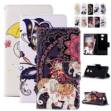 Flip Stand PU Leather Case Wallet Cover For Nokia LG K8 Xiaomi Mi F1 Redmi 5 6