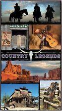 Serviette de plage Drap de bain Cowboy carte postale beach towel coton 95 x 175