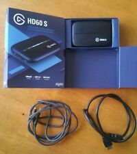 ELGATO GAME CAPTURE HD60S FOR PS4, XBOX ONE, TWITCH, YOUTUBE 1080P60