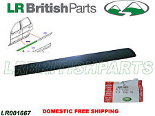 LAND ROVER FRONT DOOR UPPER OUTSIDE MOULDING  LR2 LH SIDE OEM NEW LR001667