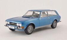 BoS 1971 Peugeot Break Riviera Blue Metallic 1:18 scale! LE 1000 Rare Find!