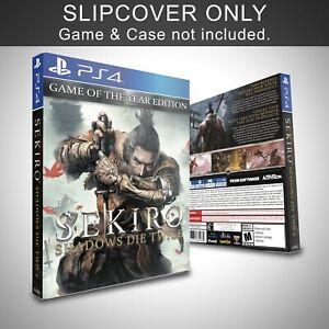 Sekiro Shadows Die Twice GOTYE PS5 Slip Cover Only Custom Handmade (NO GAME)