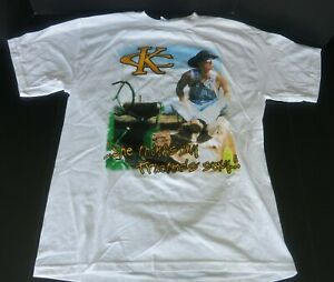 KENNY CHESNEY SHE THINKS MY TRACTOR'S SEXY CONCERT T-SHIRT WHITE LARGE NEW