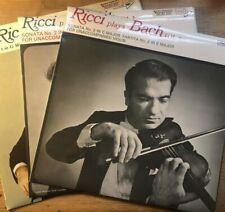 MUCS 103/119/122 Bach Complete Sonatas & Partitas / Ruggiero Ricci / 3 LP set