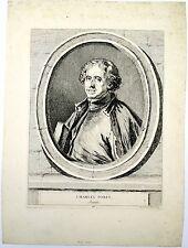 Gravure de La Live de jully,  Charles Porée, Jésuite
