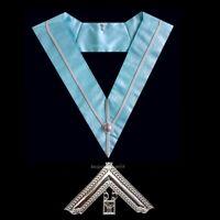 masonic regalia-CRAFT- CRAFT PAST MASTER WM COLLAR + COLLAR JEWEL (BRAND NEW)