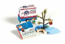 A Charlie Brown Christmas Kit : A Book and Tree Charles M. Schulz Peanuts NIB