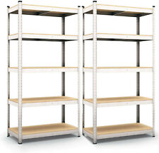 Panorama24 Shelf, Storage Shelves,Pack of 2, Basement Shelving/Workshop Shelving