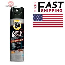 Real Kill Ant And Roach Killer 17.5 Oz Aerosol Spray Indoor Insect Pest Control