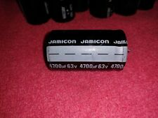 4700uF 63V Radial Snap In Electrolytic Aluminum Capacitor 105C (LOT OF 5)