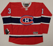 REEBOX CAREY PRICE MONTREAL CANADIENS NHL #31 JERSEY STITCHED ADULT XL NEW TAGS