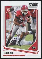 2018 Score Nick Chubb Rookie Card Browns Georgia Bulldogs RC