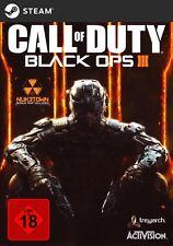 Call of Duty Black Ops 3 + Nuketown DLC Key - COD 12 BO3 PC Steam Download Code