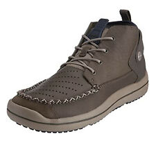 NEW Crocs Linden Ankle Chukka Boots Leather 10545-12H Mens Size 8.5 Mushroom