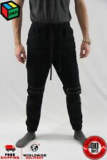 Victorious Navy Unisex/Men's Jogger Denim Jeans Zipper Pants - M Medium NEW