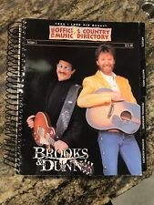 1995-1996 THE OFFICIAL COUNTRY MUSIC DIRECTORY. Volume 1, Brooks & Dunn on Cover