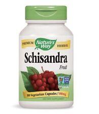 NATURE'S WAY Schisandra Fruit 580 mg - 100 Vegetarian Capsules