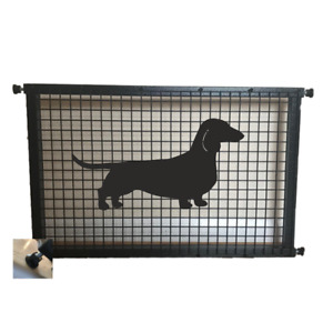 Dachshund Smooth Haired Dog Metal Puppy Guard