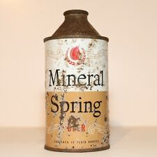 New listing Mineral Spring Beer Cone Top