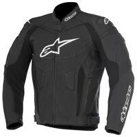Alpinestars GP Plus R v2 Leather Sports Motorcycle Motorbike Jacket Black Black