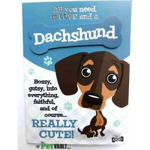 Dachshund Sausage Dog Gift Greeting Card