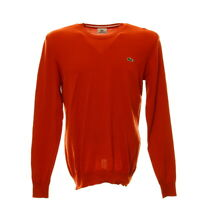 Lacoste Pullover Herren Gr. 4 Langarm Shirt Strick Sweater