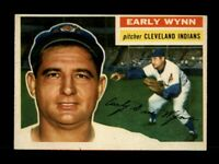 1956 Topps Baseball #187 Early Wynn (Indians) NM