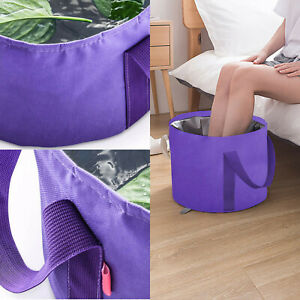 Foldable Water Basin Foot Soak Bucket Foot Soak Bag Home Multifunctional Bucket!