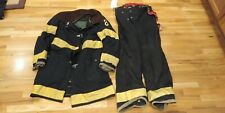 Black Fire Fighter Coat 38 and Pants 30