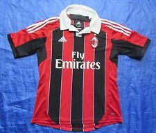 AC MILAN home jersey Shirt ADIDAS 2012-2013 Italian Club Rossoneri /men// Size M
