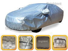 Deluxe 10 Layer 100% Waterproof Full Car Cover Aluminum Soft Cotton Lined GCHH3