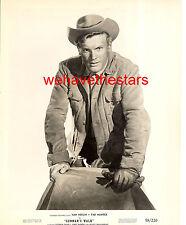 Vintage Tab Hunter QUITE HANDSOME COWBOY '58 Publicity Portrait