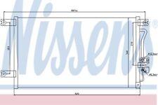 orginal NISSENS Kondensator Klimaanlage 94790 für Mitsubishi L 200 Pajero Sport