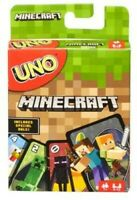 Mattel Games - UNO: Minecraft [New ] Card Game, Toy