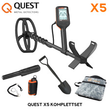 Quest X5 Metalldetektor Komplettset