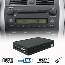 Car Kit Stereo USB SD AUX MP3 CD Changer Adapter TOYOTA Camry Previa RAV4 Prius